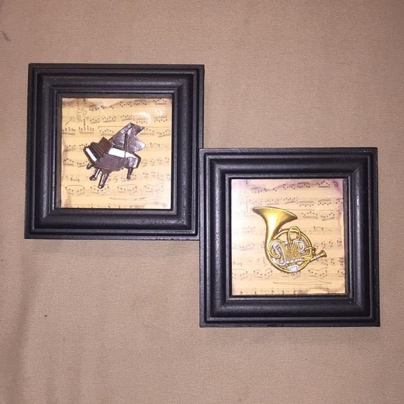 Ningbo Import Other - 🖼 Musical framed art set 🖼
